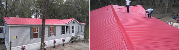 Beautiful Metal Roof Installation in Crystal River, FL (1)