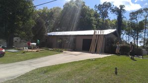 Metallic Copper color Metal Roof with insulation Installed in Wildwood, FL (1)