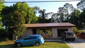 Metallic Copper color Metal Roof with insulation Installed in Wildwood, FL (2)